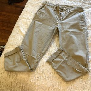 Broken in straight khaki by gap size 04